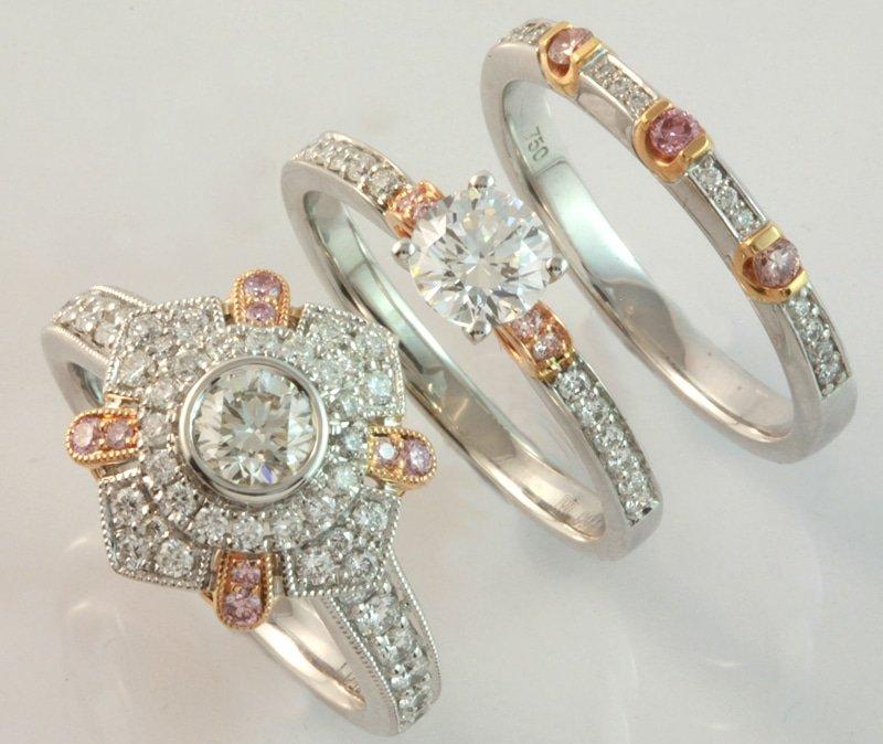 New pink diamond jewellery