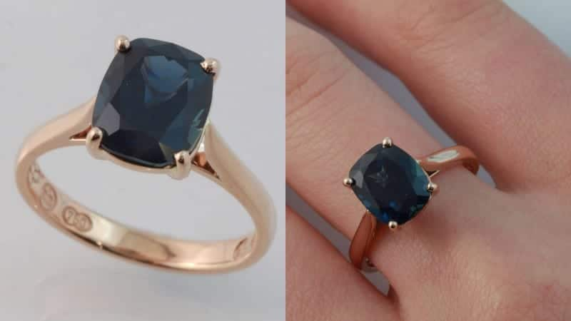 sapphire engagement ring, handmade jewellery, hand made Melbourne, custom made jewellery, unique jewellery designs