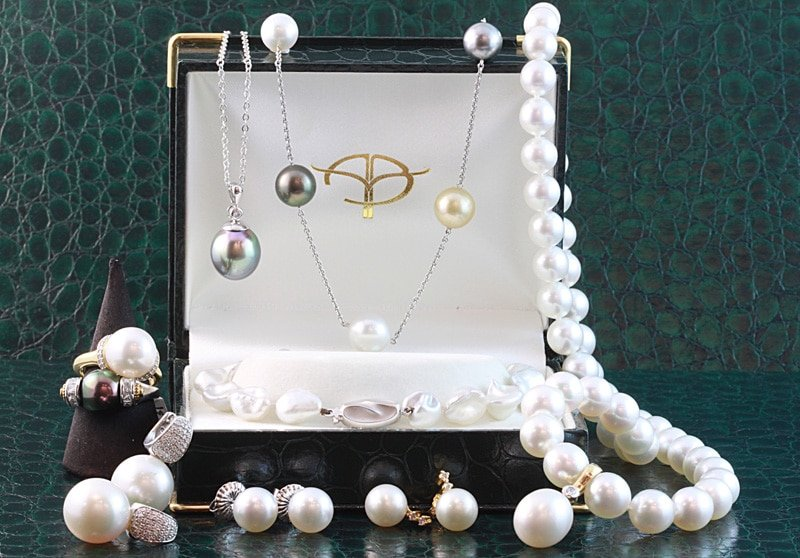 Types of pearl jewellery