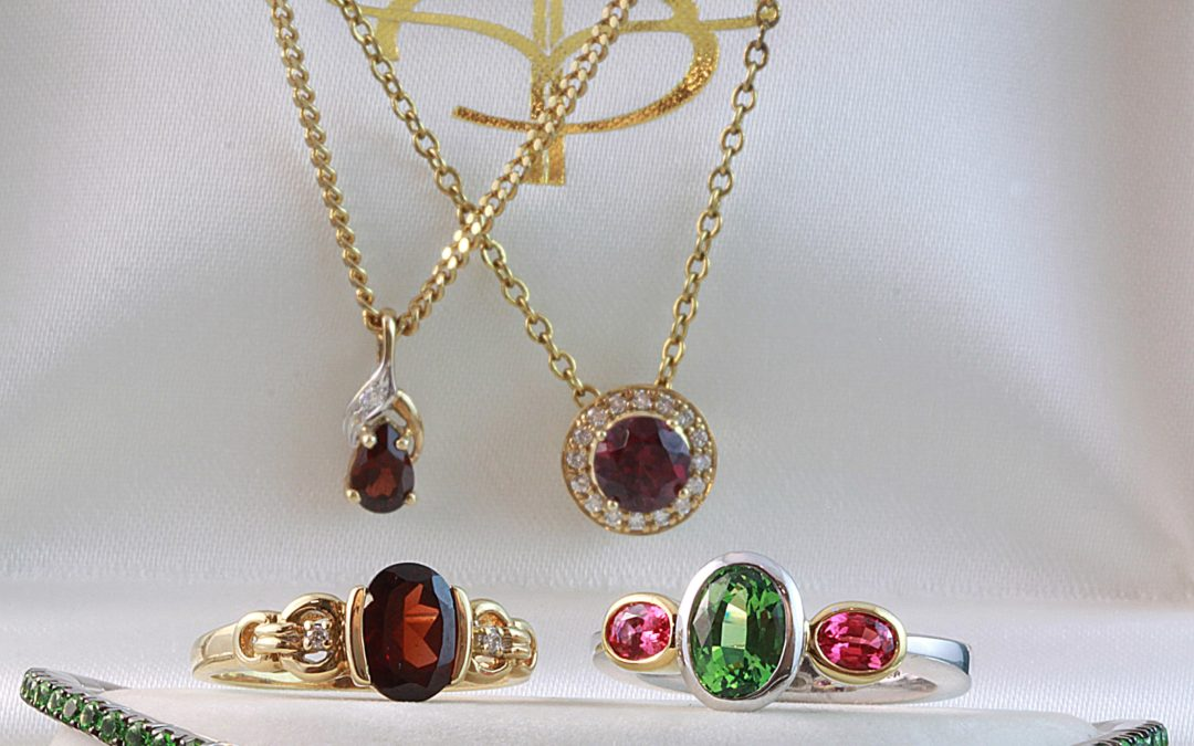 January birthstone jewellery