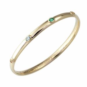gold bangle designs, coloured gemstone bangle, custom made bangle, hand made bangle,