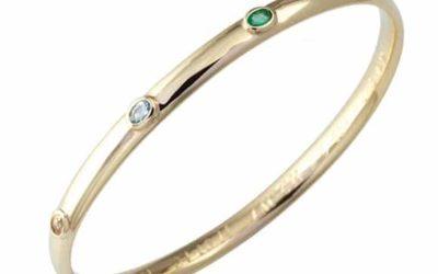 118860 : Coloured Gemstone Bangle