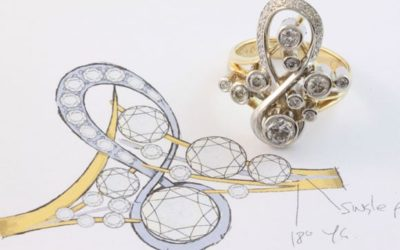 A hand crafted ring with WOW factor