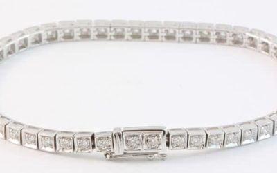 b120045 : Diamond Tennis Bracelet