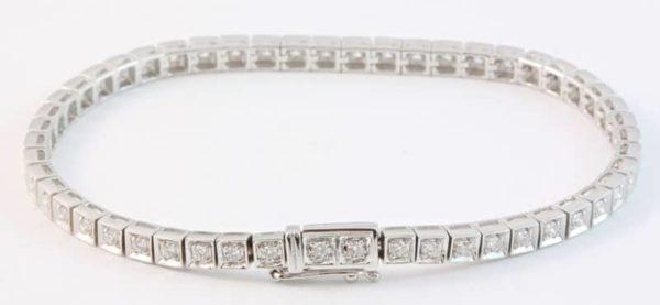 diamond tennis bracelet, Abrecht Bird, Abrecht Bird Jewellers, diamond bracelet, white gold diamond bracelet, white gold bracelet, white gold bangle, diamond bangle