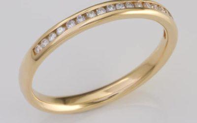 117368 : Diamond Wedding Ring