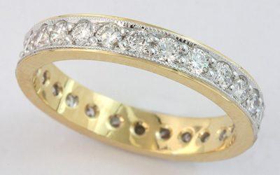 117830 : Diamond Wedding Ring