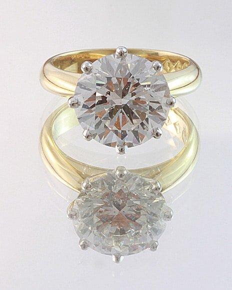 solitaire diamond ring, hand made diamond ring, custom made diamond ring, quality hand made jewellery, 5 ct diamond ring, Abrecht Bird, Abrecht Bird Jewellers, custom made jewellery