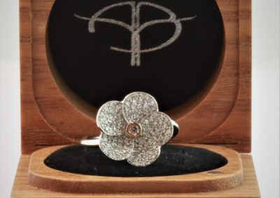 Pink-diamond-flower-ring-in-box