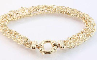119571 : Four Chain Bracelet