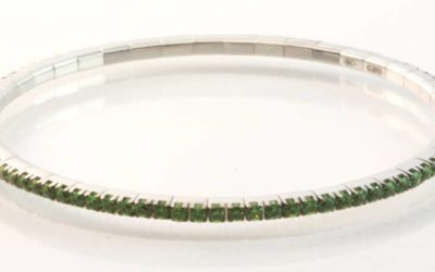 119793 : Tsavorite bracelet
