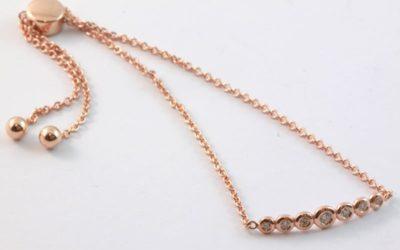 b120029 : Adjustable Diamond Bracelet