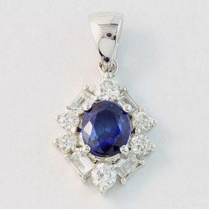 Sapphire Pendants / Necklaces