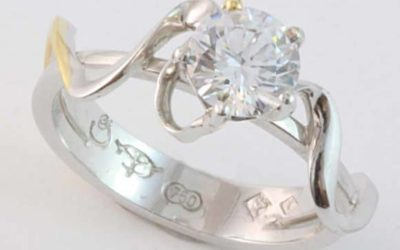 119254 : Solitaire Diamond Engagement Ring
