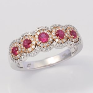 ruby ring, hand crafted jewellery, melbourne jewellers