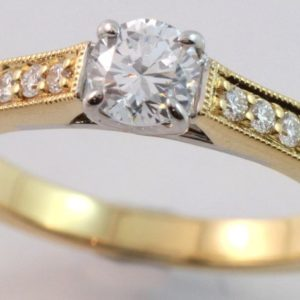 diamond engagement ring,