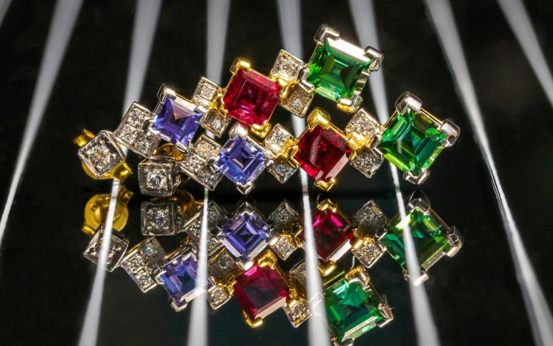 Tourmaline jewellery