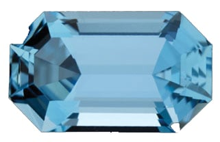 Blue Gemstone - Aquamarine