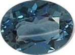 Blue Gemstones - London Blue Topaz