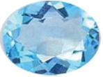 Blue Gemstones - Swiss Blue Topaz