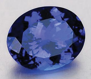 Blue Gemstones - Tanzanite