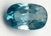 Blue Gemstones - Zircon