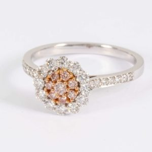 Pink Diamonds, Pink diamond engagement ring, Abrecht Bird Jewellers
