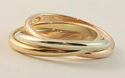 120271 : Men's Russian Wedding Ring