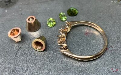Client's Repaired Peridot Ring
